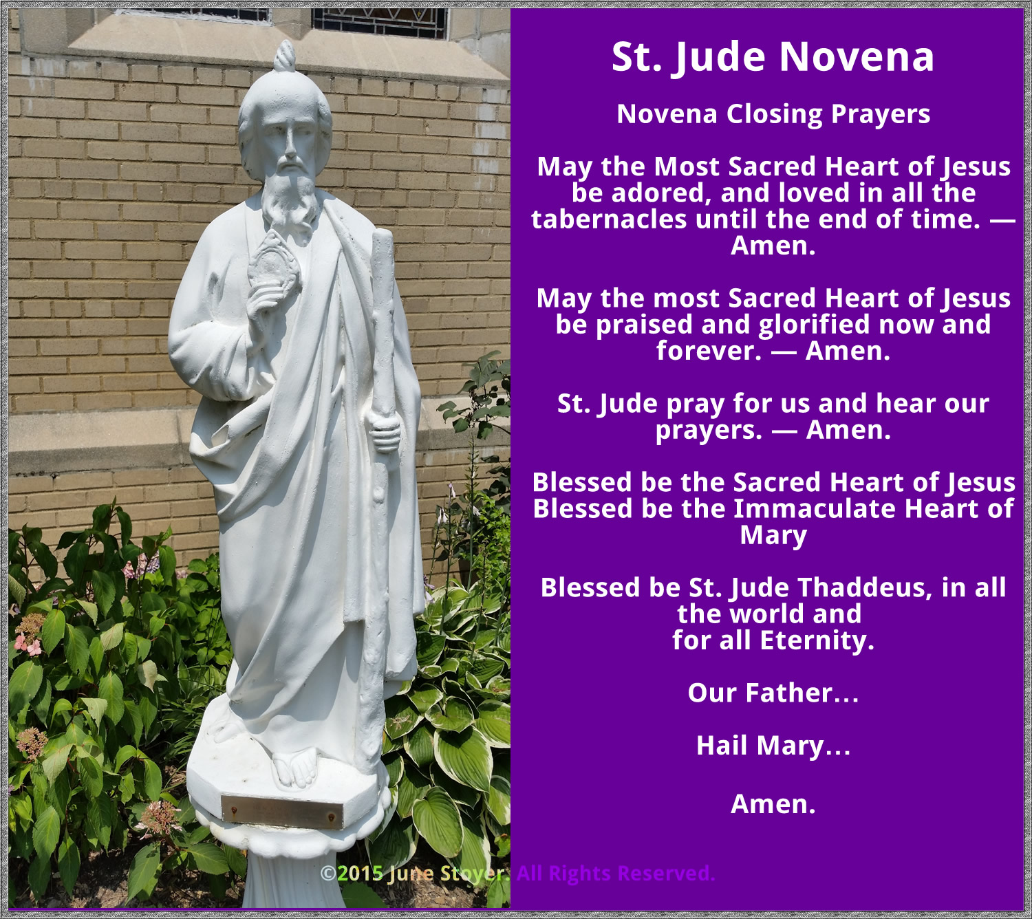 St jude novena closing prayers view full size thecheapjerseys Gallery