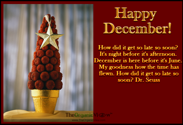 Its night before its afternoon. December is here before its June. Dr Seuss