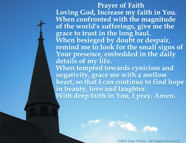 Prayer of Faith