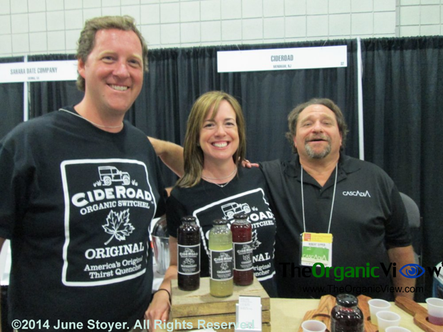 CideRoad Organic Switchel at the Summer Fancy Foods Show 2014