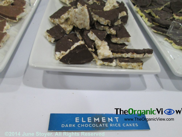 Element Dark Chocolate Rice Cakes at the Summer Fancy Foods Show 2014