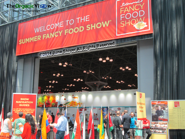 NYC Summer Fancy Foods Show 2014 entrance