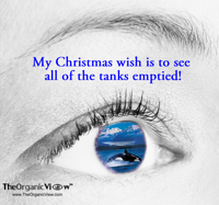 My Christmas wish is to see all of the tanks emptied!