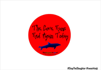 The Cove Runs Red Again Today