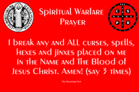 Spiritual Warfare Prayer To Break Curses and Hexes