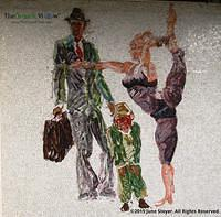 Mural at Penn Station by June Stoyer