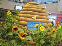 Subaru Bee Hive at The Philadelphia Flower Show by June Stoyer