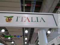 Italia pavilion at the New York Summer Fancy Foods Show 2014