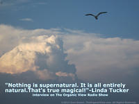 Nothing is supernatural. It is all entirely natural